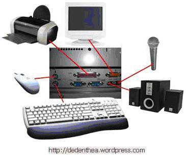 Gambar Jaringan Komputer Lengkap